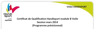 CHH B - Aquitaine 2014 - programme