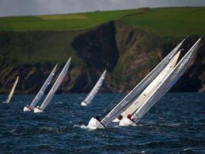 REPRO FREE Provision 290813  in the 2.4m fleet racing in the IFDS /Cork County Council World Paralympian Sailing Championships off Old Head of Kinsale yest. Pic Michael Mac Sweeney/Provision
